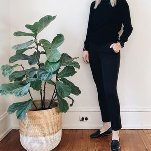 Gap Signature Skinny Ankle Pants in Black